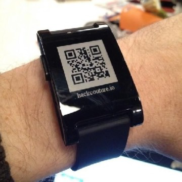 HackCouture QR Code Watchface